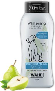 Wahl White Pear Whitening and Brightening Shampoo for Dogs